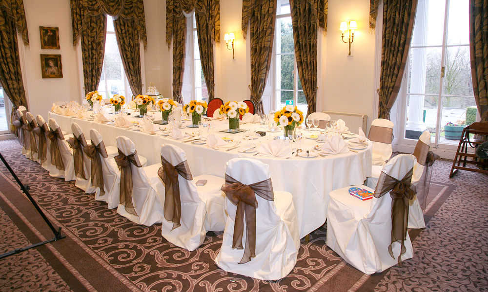 Private Dining at Ringwood Hall Hotel
